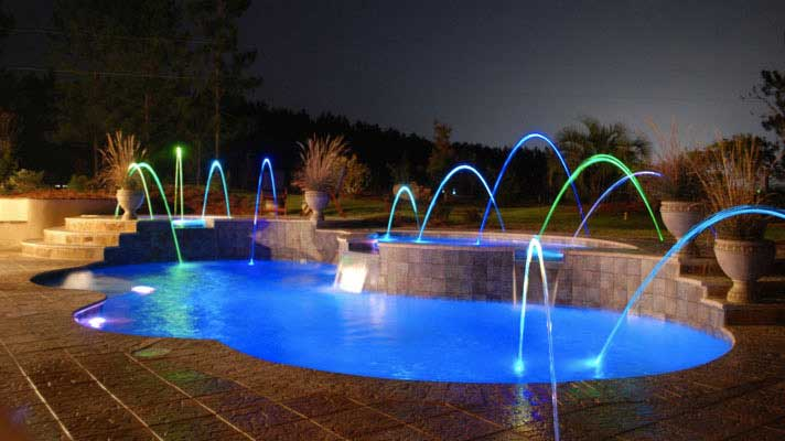 Best Custom Pool and Spa Water Features Fairfield CT